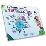 my mummy is an engineer - butterfly books - front cover
