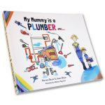 My mummy is a plumber - butterfly books - front cover