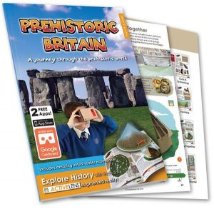 Prehistoric Britain - ActiveLens - History Teaching resource - front cover