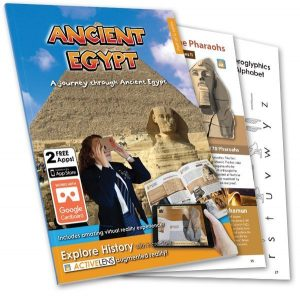 ActiveLens - A Journey through Ancient Egypt - Computeam book - front cover
