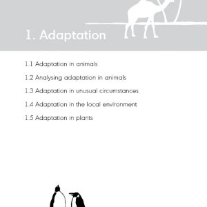 Teaching evolution in primary schools - Chapter 1 Adaptation