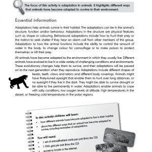 Teaching evolution in primary schools - Activity 1