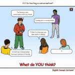 English Concept Cartoons - free samples - Is texting a conversation