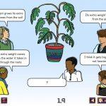 Science Concept Cartoons Set 1 - free sample - heavy plants