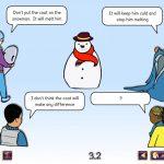 Science Concept Cartoons Set 1 - free sample - snowman's coat