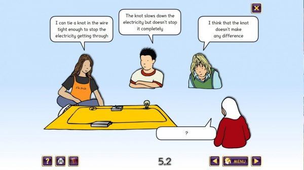 Science Concept Cartoons Set 1 - free sample - electrical circuits