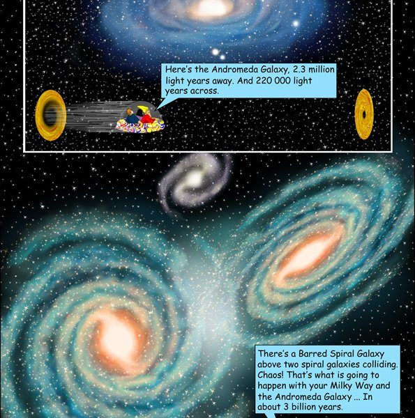 Chris Claytons Amazing Galactic Adventures - astronomy for kids